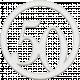 Toolbox Numbers- White Circle Number 50