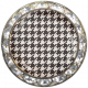 Memories & Traditions- Black and Cream Houndstooth Brad