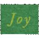 Memories & Traditions- Joy Word Art