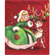 Memories and Traditions- Girl and Deer Ephemera Card