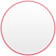 Toolbox Calendar- Date Sticker Kit- Base Stickers- Dark Pink Thin Border