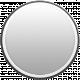 Toolbox Calendar- Date Sticker Kit- Base Stickers- Gray Sticker Thin Border