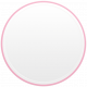 Toolbox Calendar- Date Sticker Kit- Base Stickers- Light Pink Thin Border