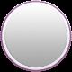 Toolbox Calendar- Date Sticker Kit- Base Stickers- Light Purple Thin Border
