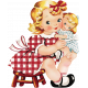 Memories and Traditions- 50s Girl and Doll Ephemera
