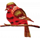 Toolbox Needlework- Bird on Branch