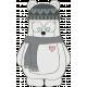 Winter Fun- Bear Doodle