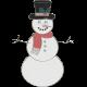 Winter Fun- Snowman Doodle