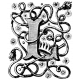 Letter Stamp Template 132