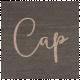 Winter Day- Cap Word Art