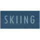 Winter Day- Skiing Word Art