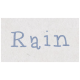 Spring Day- Rain Word Art