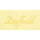 Raindrops & Rainbows - Daffodil Word Art