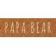 Family Day- Papa Bear Word Art
