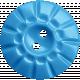 Happy Birthday Mini- Blue Button