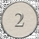 Toolbox Calendar - Dot Number 2 White