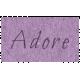 Digital Day- Adore Word Art