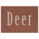 At the Zoo- Deer Word Art
