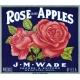 Apple Crisp- Apple Label