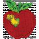 Apple Crisp- Apple Applique