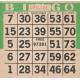 Apple Crisp- Bingo Card
