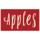 Apple Crisp- Apples Word Art
