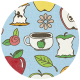 Apple Crisp- Doodle Brad Disk 01