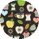 Apple Crisp- Doodle Brad Disk 02
