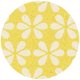 Apple Crisp- Yellow Flower Brad Disk
