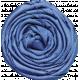 Elegant Autumn- Blue Rosette