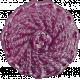Elegant Autumn- Purple Button