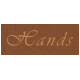 Day of Thanks- Hands Word Art