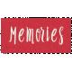Day of Thanks- Memories Word Art