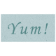 Day of Thanks- Yum! Word Art