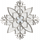 Home for the Holidays Doodle Kit 1 - Snowflake Doodle 05