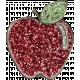 Toolbox Styles Glitter & Metal- Glitter Enamel Apple