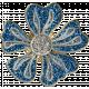 Toolbox Styles Glitter & Metal- Glitter Enamel Flower