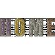 Toolbox Styles Glitter & Metal- Glitter Enamel Home Word Art