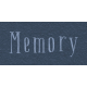 New Day - Memory Word Art