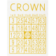 All the Princesses- Crown Bingo Card