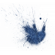All the Princesses - Blue Glitter Splatter
