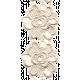 All the Princesses - Cream Rose Lace