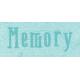 All the Princess- Memory Word Art
