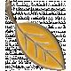 Apple Crisp- Enamel Leaf Charm 02