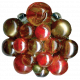 Christmas Memories Bead Cluster- Red