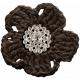 Fall Into Autumn- Brown Flower