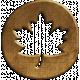 Fall Into Autumn- Maple Leaf Charm