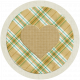 Garden Party Heart Sticker