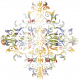 Chills & Thrills- Ornamental Chalk Stamp