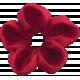 The Nutcracker- Red Fabric Flower